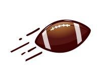 Futbol Amerykański piłki ikona Zdjęcie Stock