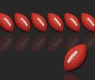 Futbol amerykański projekt royalty ilustracja