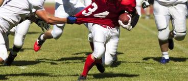 Futbol amerykański gra Fotografia Royalty Free