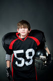 futbol amerykański gracz Fotografia Royalty Free
