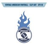 futbol amerykański ikony temat Zdjęcia Royalty Free