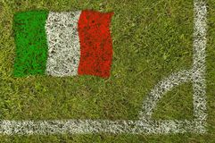 futbol bandery Zdjęcie Royalty Free