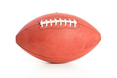 Futbol: Boczny widok futbol Obraz Stock
