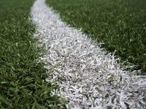 Futbol, boisko do piłki nożnej/ linia Zdjęcia Stock