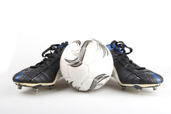 futbol buty Fotografia Royalty Free