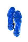 Futbol buty na białym tle Zdjęcia Royalty Free