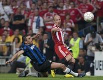 Futbol: Champions League finał 2010 Obrazy Stock
