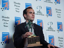 Futbol De Primera. Landon Donovan, current player of the USA team and the Galaxy at the Honda Player of the Year Awards Royalty Free Stock Photography