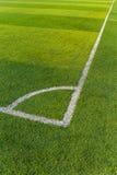 Futbol dworska trawa Fotografia Stock