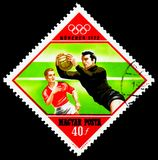 Futbol, letnie igrzyska 1972, Monachium seria około 1972, Zdjęcia Royalty Free