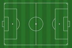 Futbol ziemia royalty ilustracja
