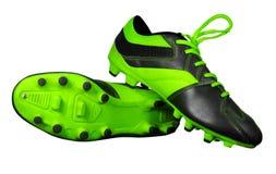 futbol odizolowywającego buty Obraz Royalty Free