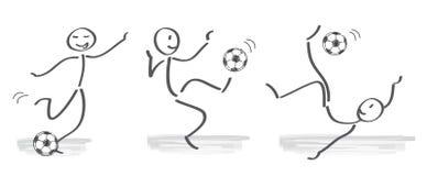 Futbol, piłka nożna Royalty Ilustracja
