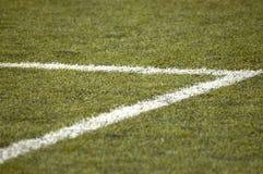 futbol pola Obrazy Stock