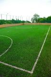 futbol pola Zdjęcia Royalty Free