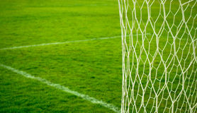 Futbol sieć Obrazy Royalty Free