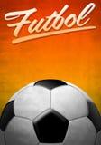Futbol - Soccer - Football spanish text Royalty Free Stock Photography