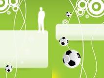 futbol tło ilustracja wektor