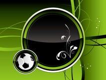 futbol tło Zdjęcie Stock