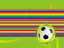 futbol tło Zdjęcia Stock