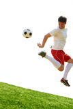 futbolista fotografia royalty free