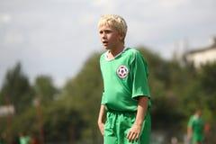 Futbolista Fotografía de archivo libre de regalías