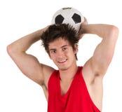futbolista obraz royalty free