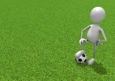 futbolista Ilustracji
