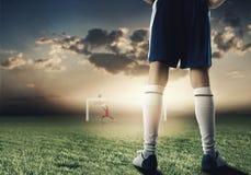 Futbolista Foto de archivo libre de regalías