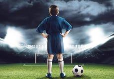 Futbolista Imagen de archivo libre de regalías