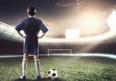Futbolista Fotos de archivo
