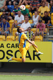 Futbolista - Adrian Mutu Fotografía de archivo libre de regalías
