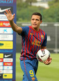 futbolista Alexis futbolista Sanchez obraz stock