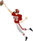Futbolista americano Imagenes de archivo