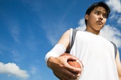 Futbolista asiático Imagen de archivo