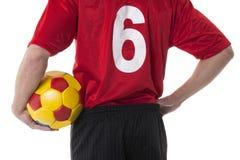Futbolista del fútbol/ Fotos de archivo
