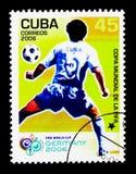Futbolista, Futbolowy puchar świata 2006, Niemcy seria około 2006, fotografia stock