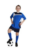 Futbolista joven Fotografía de archivo