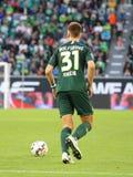 Futbolista Robin Knoche en la acción durante un partido imagen de archivo