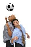 Futbolistas Fotografía de archivo libre de regalías