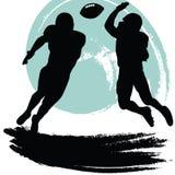 Futbolistas Imagen de archivo libre de regalías