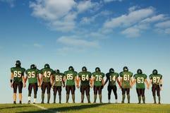 Futbolistas Foto de archivo