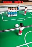 Futbolistas del juguete Imagen de archivo