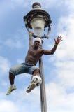 Futbolisty freestyler, Iya Traore Paryż Francja, Maj - 29, 2014 - Obrazy Royalty Free