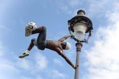 Futbolisty freestyler, Iya Traore Paryż Francja, Maj - 29, 2014 - Fotografia Royalty Free