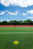 Futbolowa bramkowa poczta Fotografia Stock