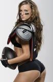 futbolowa kobieta Fotografia Stock