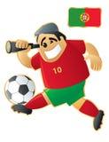 futbolowa maskotka Portugal Fotografia Stock