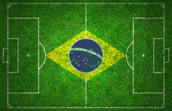 Futbolowa smoła Zdjęcia Stock