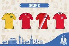 Futbolowa sport odzież Russia 2018 Obrazy Stock